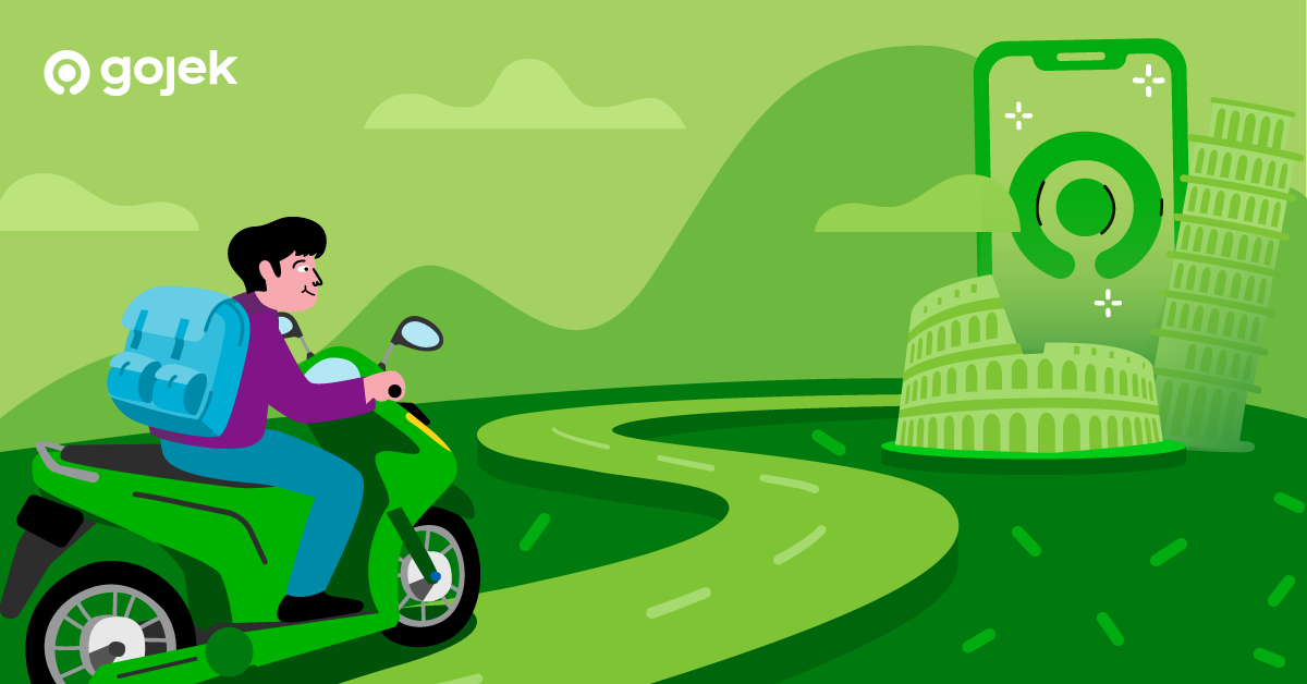How Gojek Design Helped Me Find My Own 'Rome'