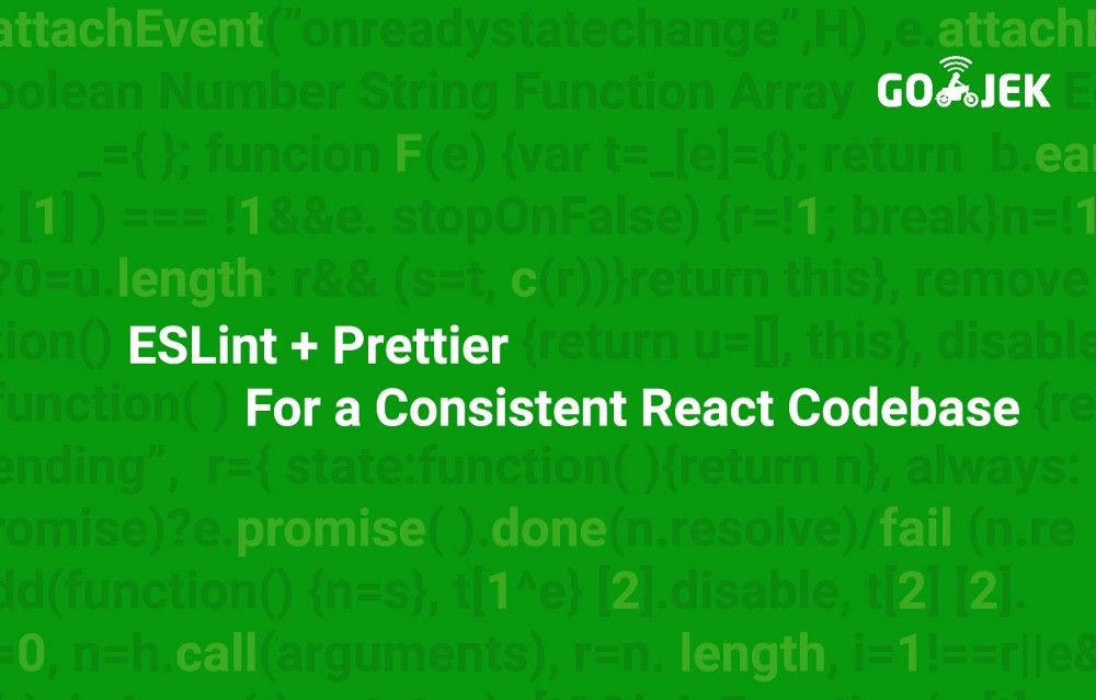 ESLint + Prettier For a Consistent React Codebase