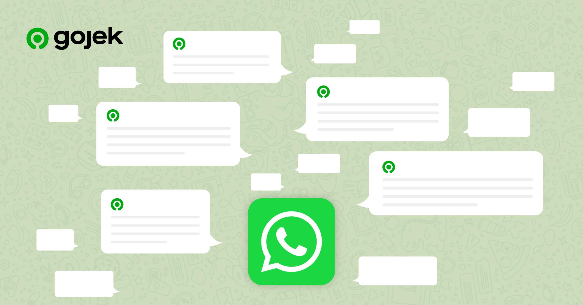 WhatsApp <> Gojek - An experiment